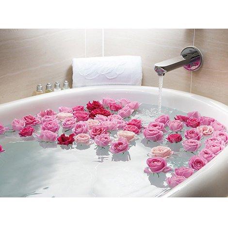 ローズファタール ピンク バラ風呂2