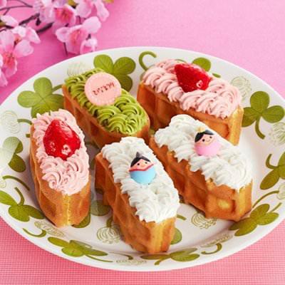 ワッフル・ケーキの店 R.L ひな祭り