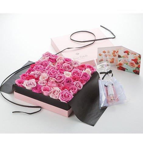 ローズファタール ピンク バラ風呂