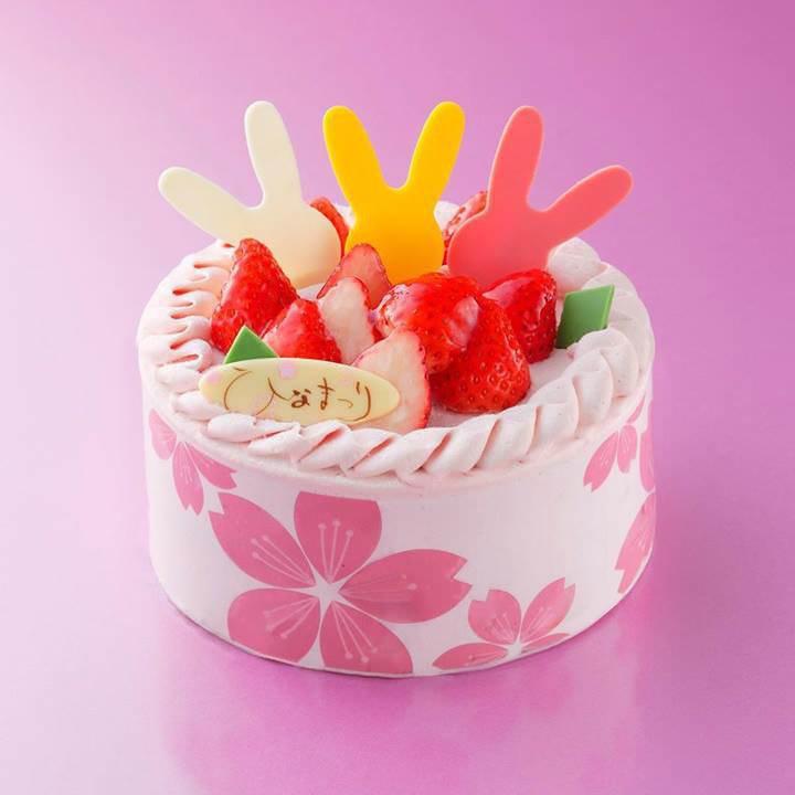 アンリ・シャルパンティエ ひな祭りケーキ 2018