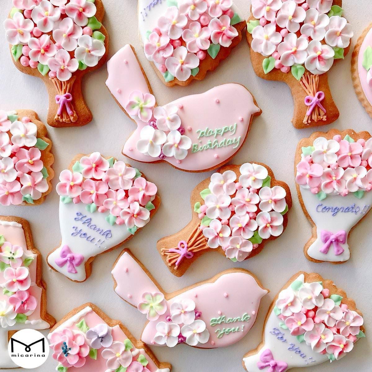 春,クッキー