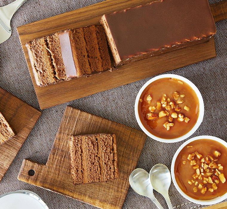 テオブロマ アイス&ショコラ ケーキセット5