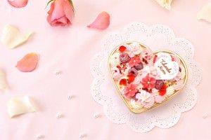アニバーサリー 母の日ケーキ ハート