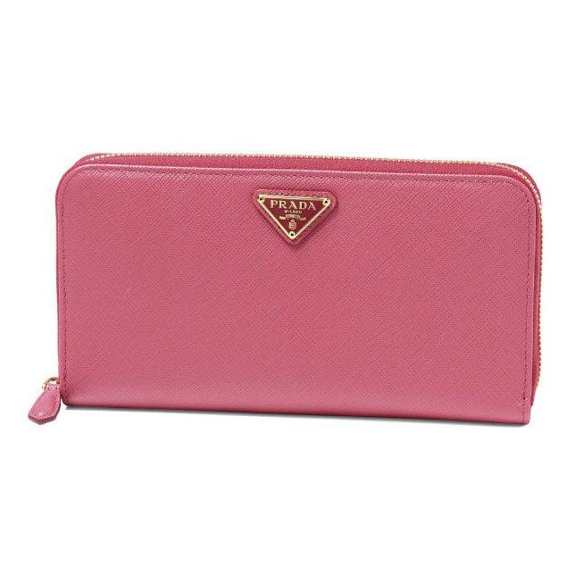 プラダ 財布 ピンク