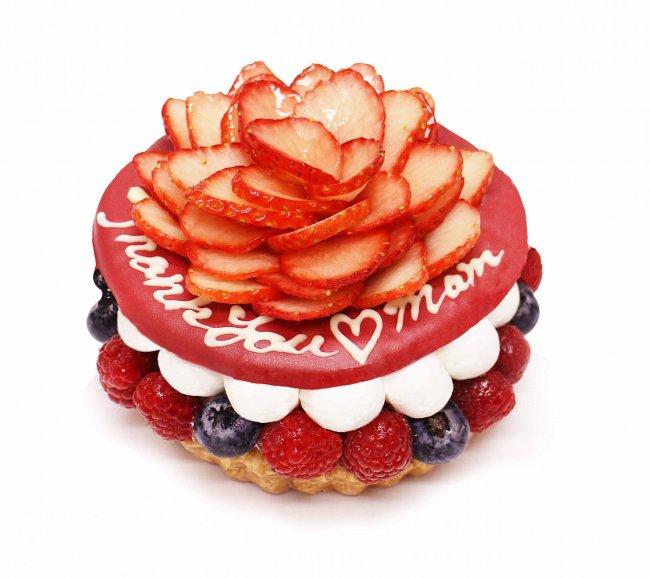 コムサカフェ 母の日限定ケーキ