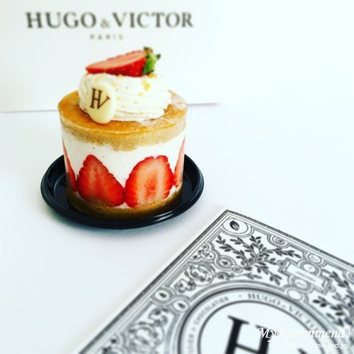 HUGO & VICTOR ショートケーク フレーズ