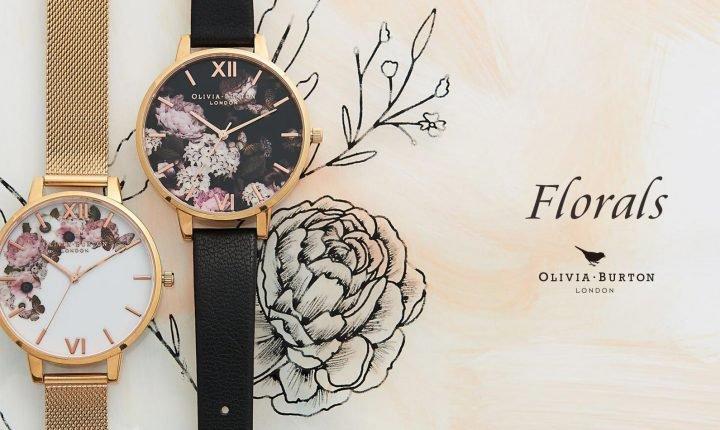 可愛い腕時計ブランド!人気の花柄はアクセサリー効果も抜群