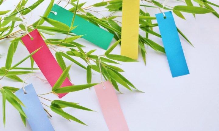 七夕について、祭りの起源や短冊の飾り方・お供え物はなに?