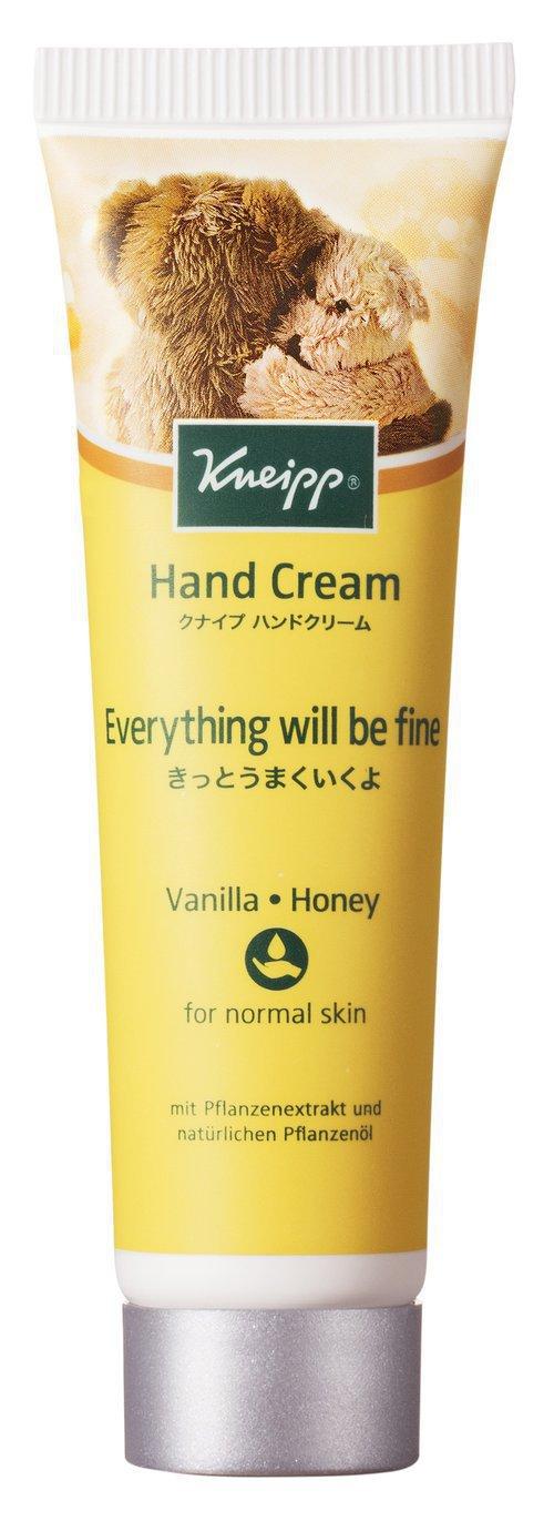 クナイプ ハンドクリーム バニラ&ハニーの香り
