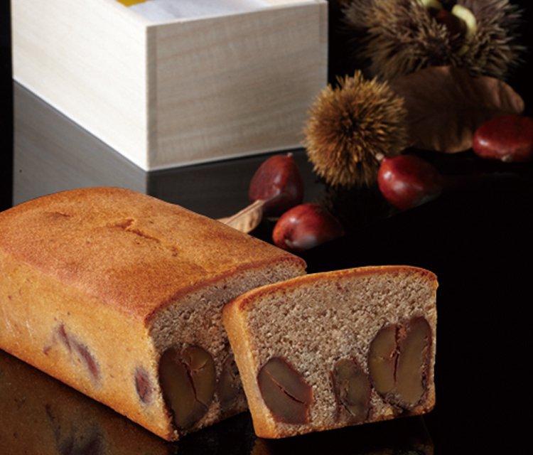 ブールミッシュのパウンドケーキ(和栗)