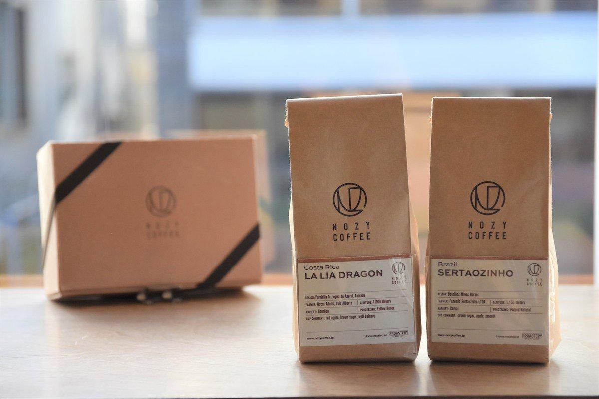 NOZY COFFEE,シングルオリジン