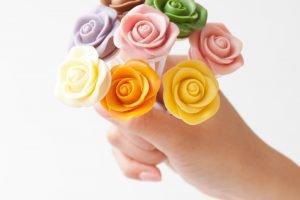 おしゃれで可愛いお花のスイーツ