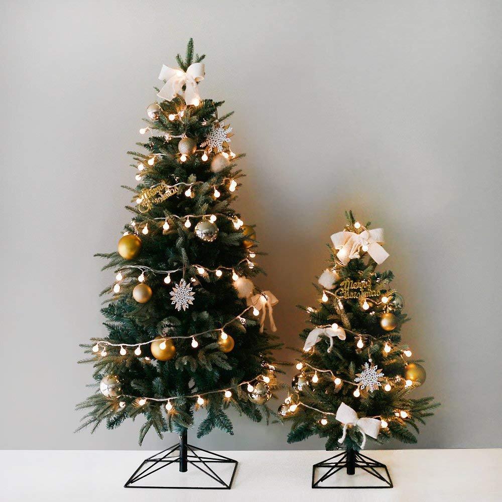 クリスマスツリー,150cm+雪の華 LEDライト