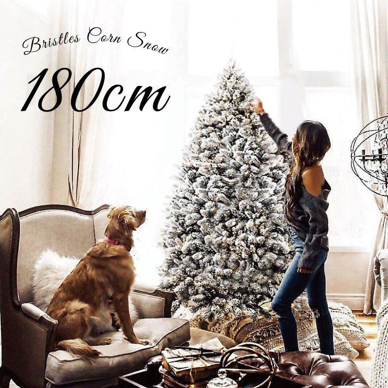 クリスマスツリー,ホワイトスノー