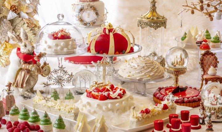 可愛いデザートブッフェ!ヒルトン東京「アリスinクリスマス・マジック」