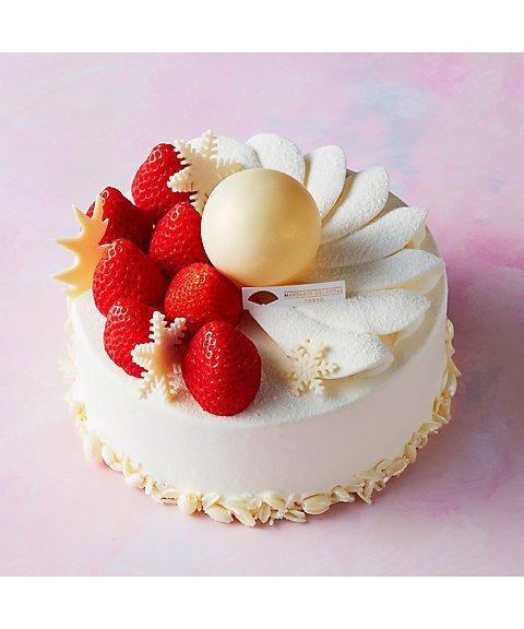 豪華なストロベリーショートケーキ