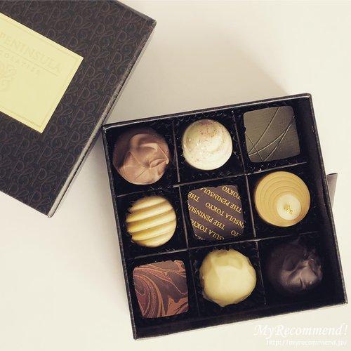 ペニンシュラホテル東京のチョコレート