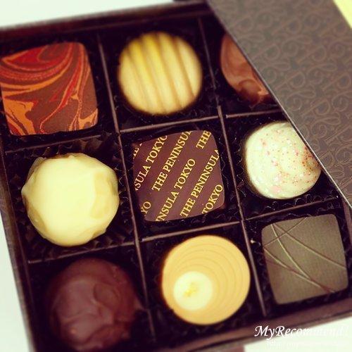 ペニンシュラ東京 チョコレート