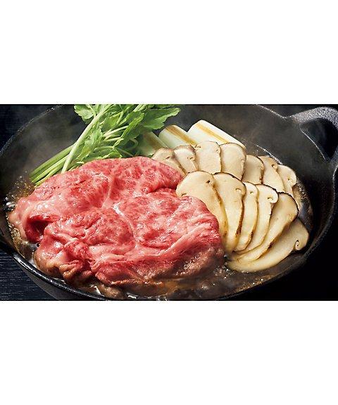 赤坂松葉屋,松茸と飛騨牛のすき焼セット