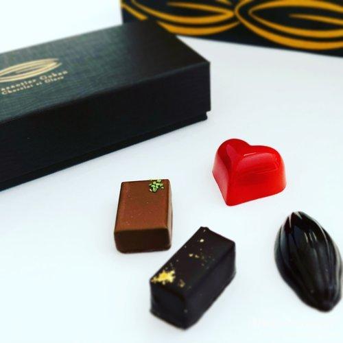 カカオティエ ゴカン,チョコレート