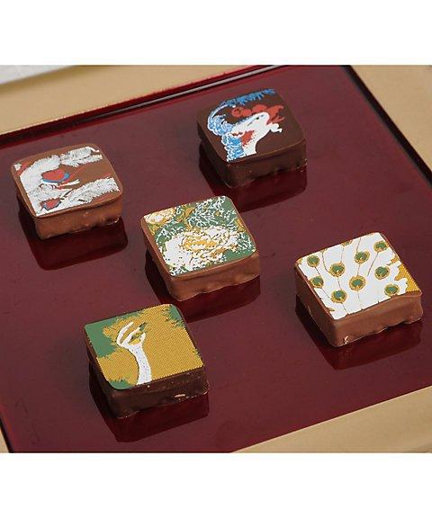 岡田美術館,チョコレート