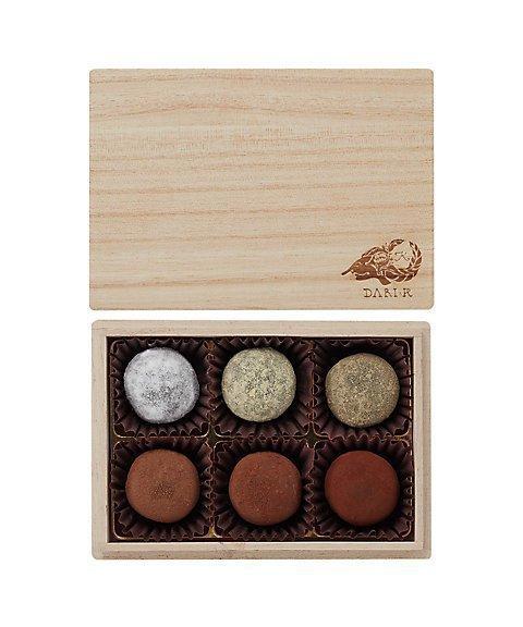 ダリケー,カカオが香るチョコレート・トリュフ