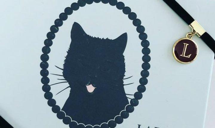 ラデュレのチョコレート!黒猫が描かれたボックスもかわいい