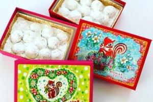 西光亭のクッキーがおすすめ!リスのイラストの箱も可愛い!