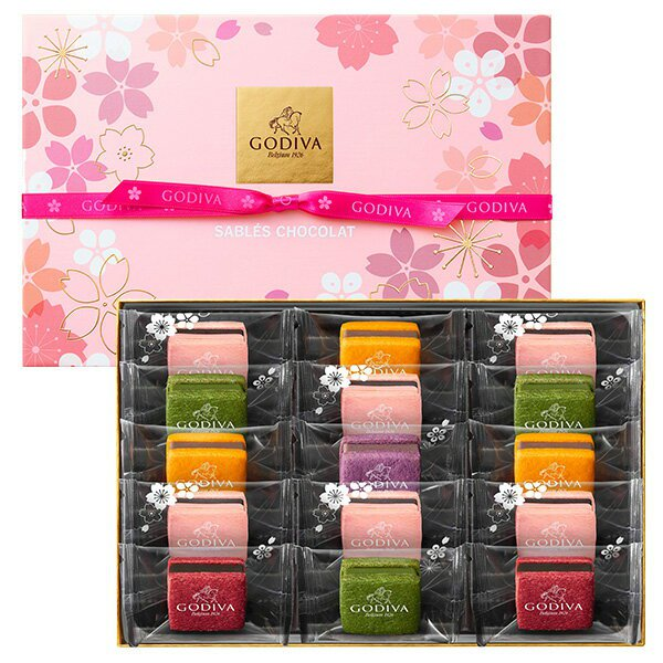 ゴディバ サブレショコラ 桜 2019