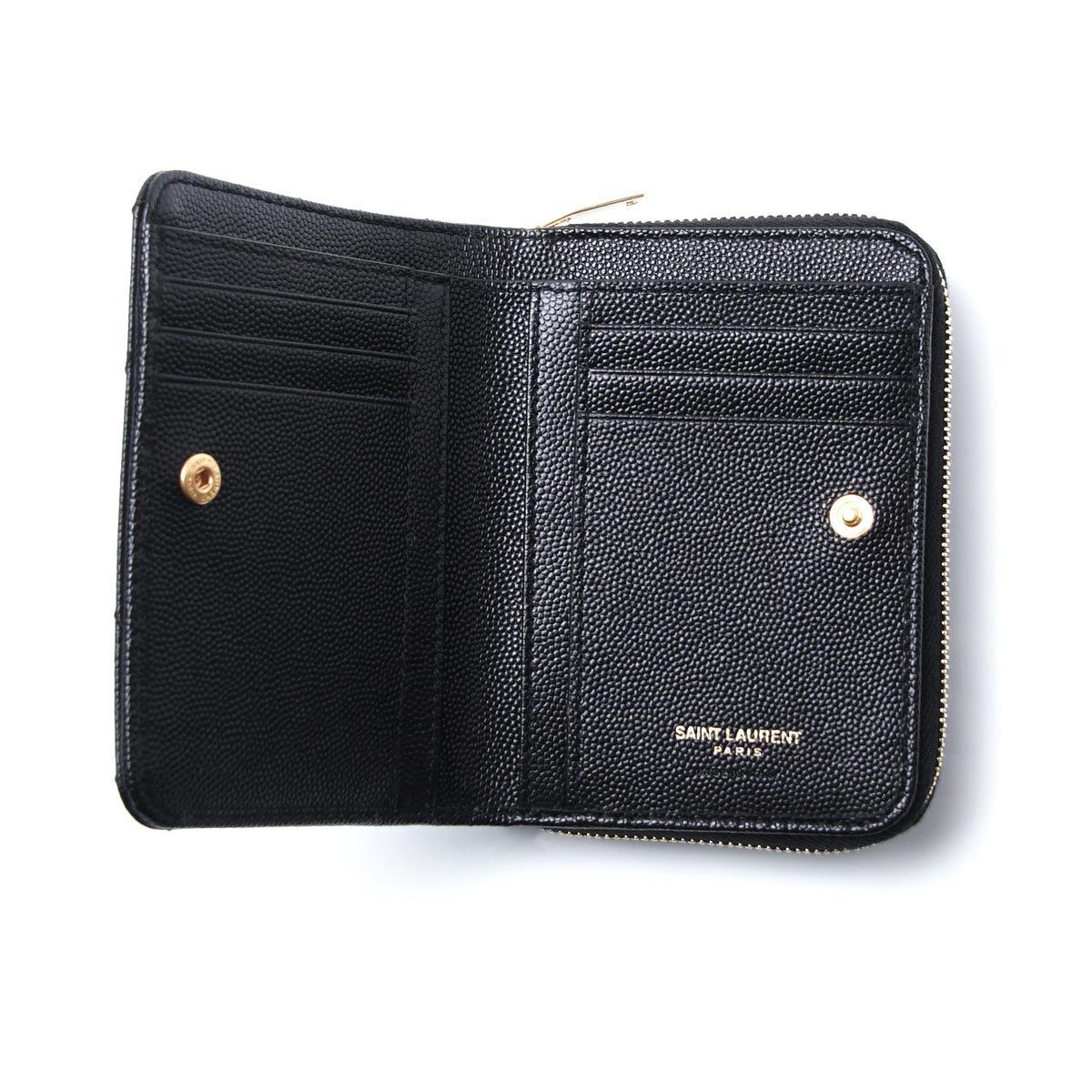 サンローラン,2つ折り財布
