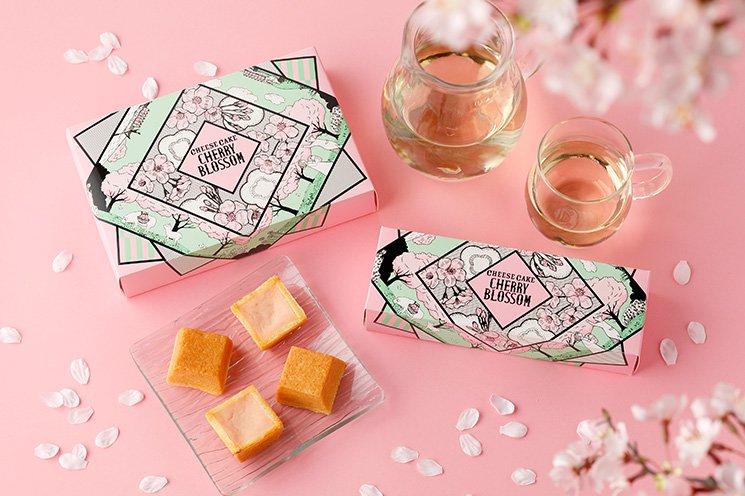 資生堂パーラー,春のチーズケーキ