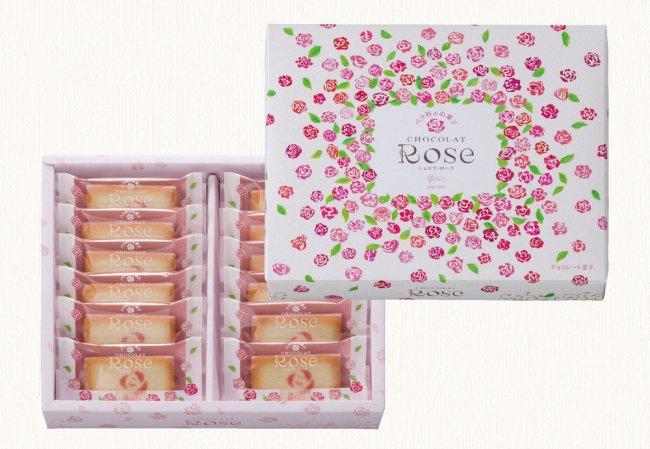 バラ科のお菓子 ショコラ・ローズ