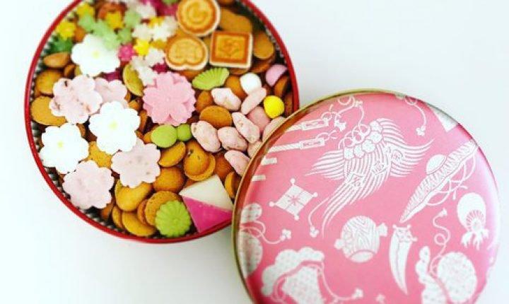 銀座菊廼舎の冨貴寄「桜色缶」可愛らしい江戸菓子を手土産に
