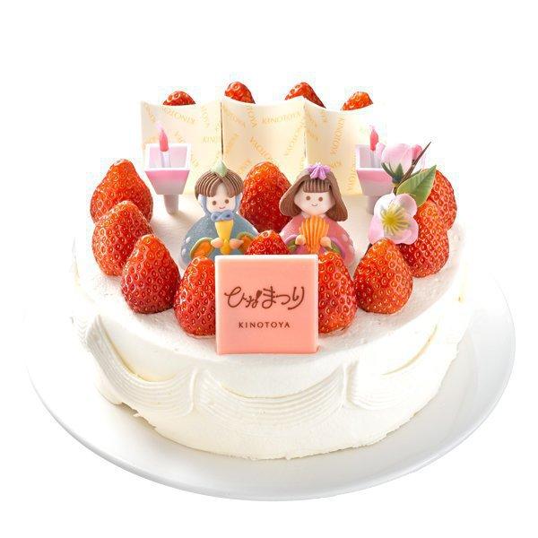 KINOTOYA,ひな祭りケーキ