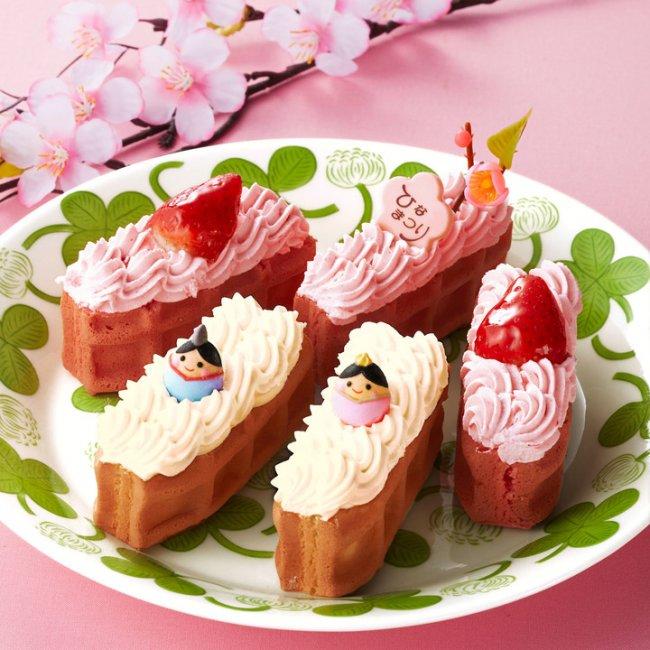 ワッフル・ケーキの店 R.L,ひな祭り限定ワッフル