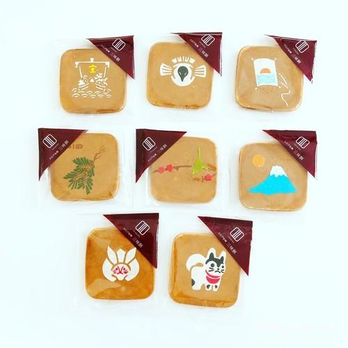 松崎煎餅,三味胴桐箱セット