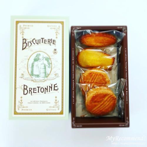 ビスキュイテリエ ブルトンヌ,焼き菓子