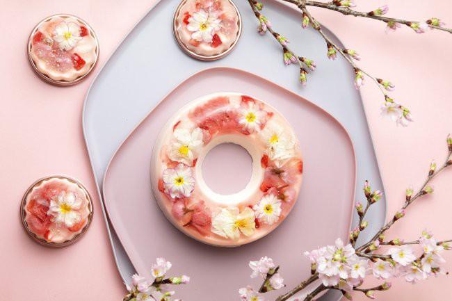 花のババロア,春