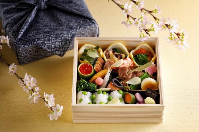 京都ホテルオークラ,花見弁当