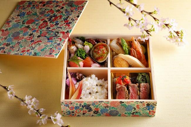 和食と洋食,花見弁当