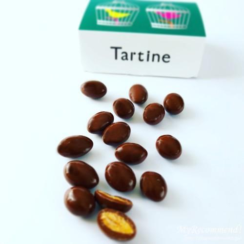 タルティン,アーモンドチョコレート