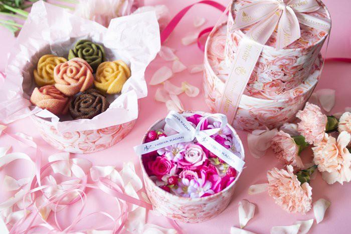 日比谷花壇×Mon cher プリザーブド&アーティフィシャルフラワー