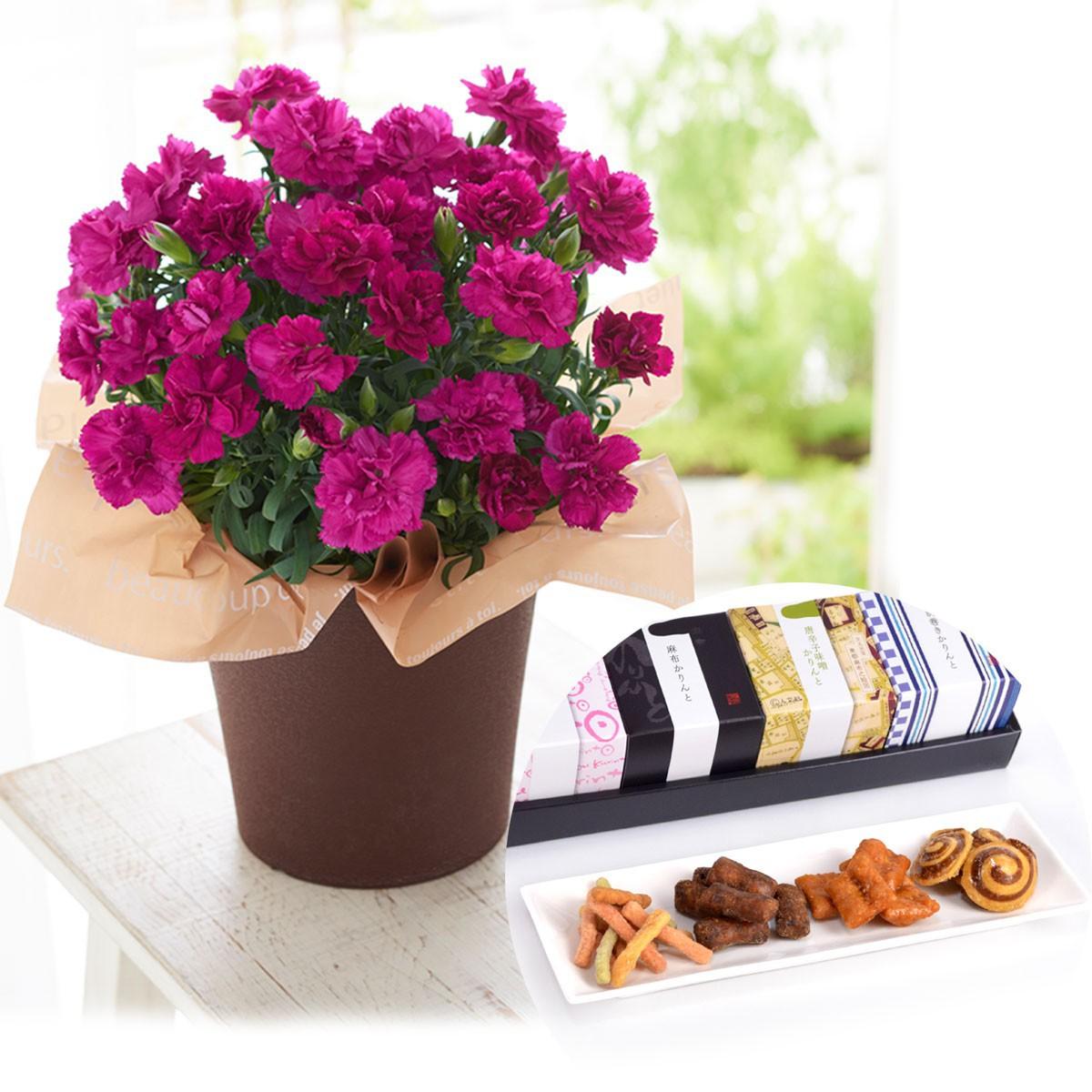 お花と和菓子ギフト