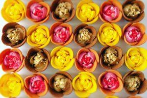 チューリップローズはお菓子の花園!ショコラスイーツのお花畑