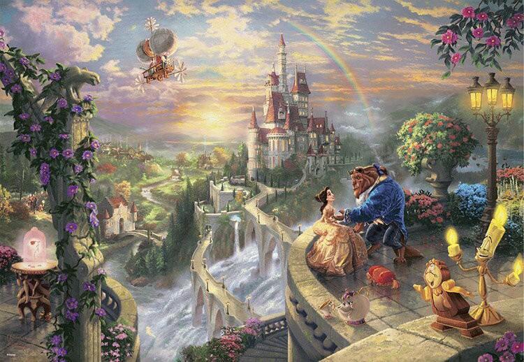 ディズニーパズル,美女と野獣