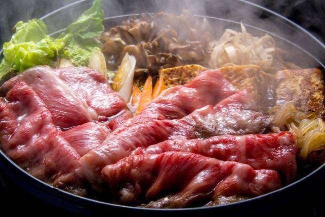 薩摩 牛の蔵,すき焼き