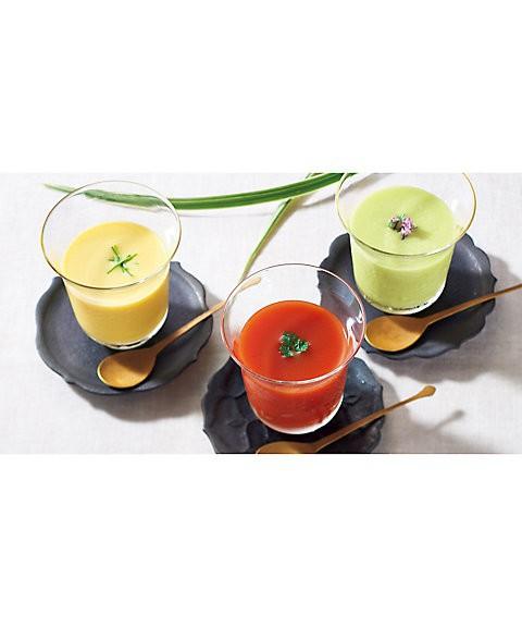 京・料亭わらびの里 料亭の和風冷製スープ