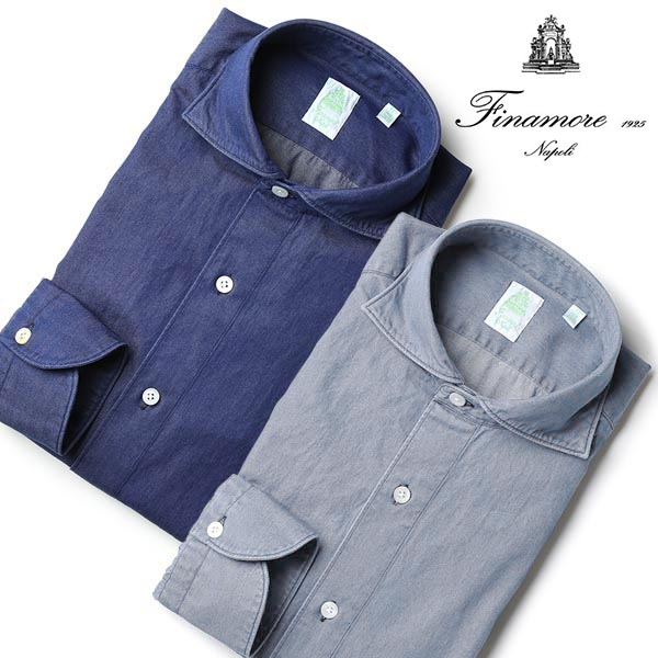 Finamore(フィナモレ),シャツ シモーネ