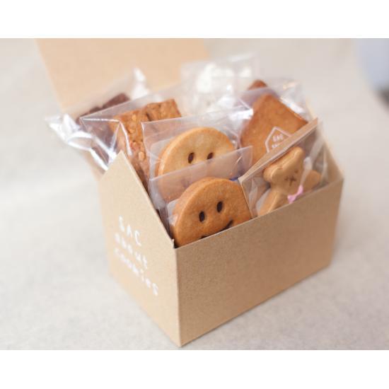 おうち型のクッキー,SAC about cookies