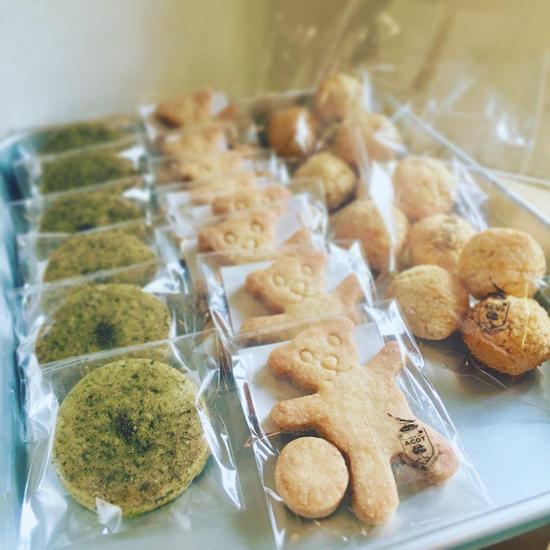 焼き菓子のACOT,クマのクッキー